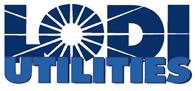Lodi Utilities logo - links to Home